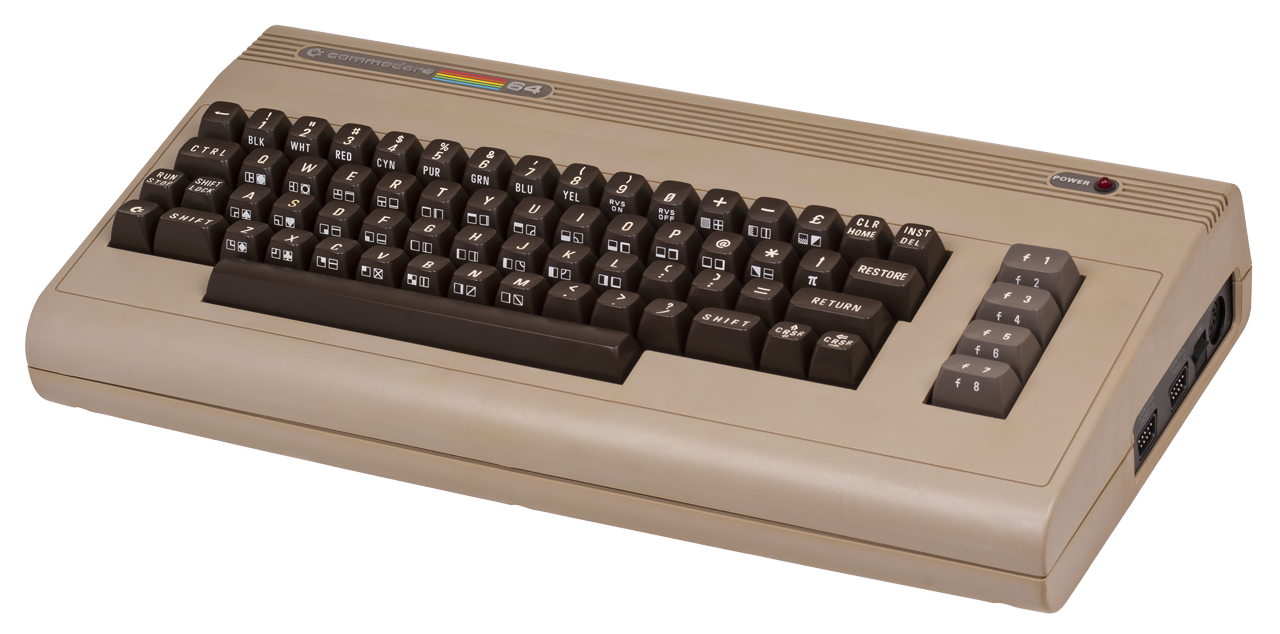 Commodore 64 Image from Wikipedia